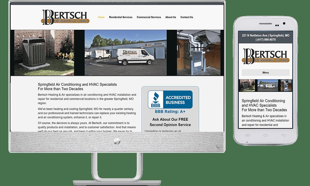 site guy portfolio-bertsch heating and air