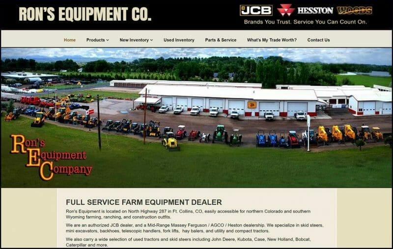 site guy portfolio-rons equipment