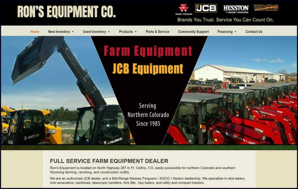 rons equipment co ft collins